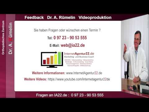 Videoproduktion Deutschland - Referenz Dr Ruemelin